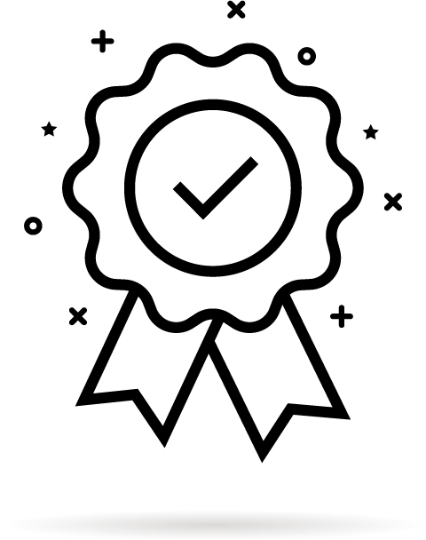 Grafische Darstellung eines Siegels.